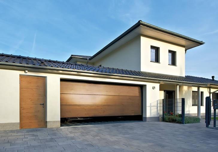Vedlejší garážové dveře