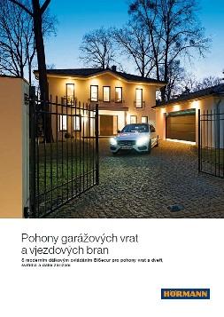 pohony garážových vrat katalog